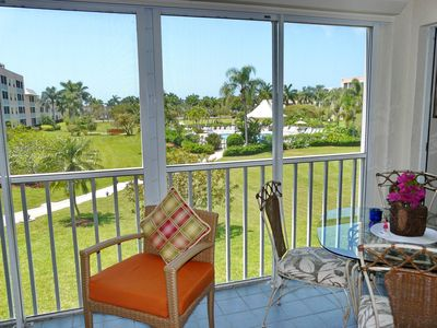 Photo for Colorful island-style condo w/ heated pool, hot tub & short walk to beach