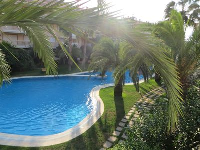 Photo for Modern apartment with free WiFi located near the Arenal beach