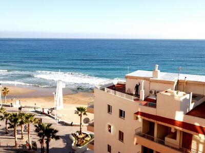Photo for Sea view, Costa Blanca, close to shops, restaurants, and beach 45m
