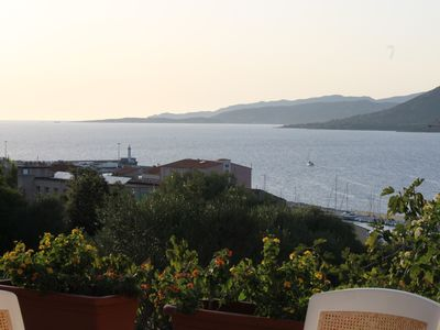 Photo for quiet apartment with garden view and sea, height Propriano, valinco