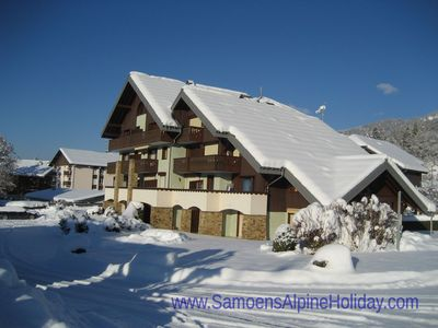 Photo for Samoëns apartment, sleeps 4-6 within village. Free Wi-Fi