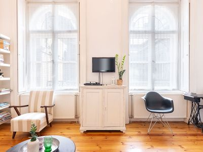 Photo for Stylish apartment in the hart of the city 2-5 people 2 bedroom living room