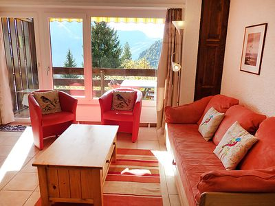 Photo for Apartment Centaure B RS 2 in Ovronnaz - 4 persons, 1 bedrooms