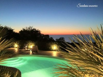 Photo for Villa Matilde: private pool and seaview