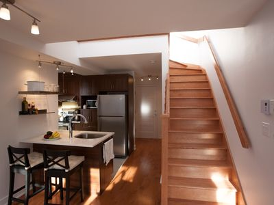 Photo for #60 Lovely Open Concept APT in Plateau Mont-Royal