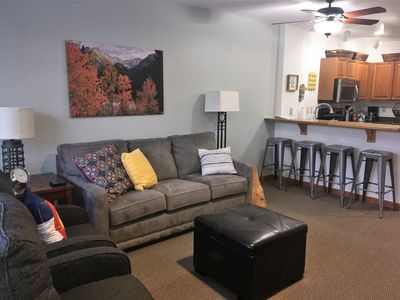 Photo for Ski In/Ski Out Zephyr Lodge Riverside 1 BR/1 BA King Bed and Hot Tub Access