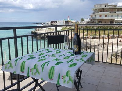 Photo for SEAFRONT APARTMENT LETI YOUR BEACH HOUSE