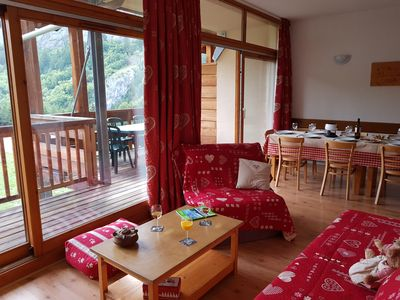 Photo for Valloire: Residence 5 minutes from the slopes -Swimming pool-sauna Apartment 8-10 per