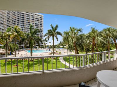 Photo for NICE Beachfront Condo with great pool and beach views ! - Close to great area Restaurants
