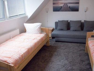 Photo for Nearby airport furnished 2-room apartment with a direct connection to the old town