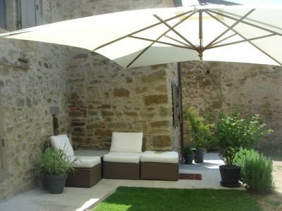 Photo for Luxurious, spacious, 90 m2 house in the green hills on the Tuscan Umbrian border