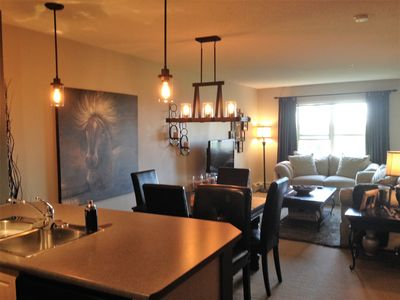 Photo for Beautifully Decorated and Sparkling Clean Condo in Southwest Edmonton