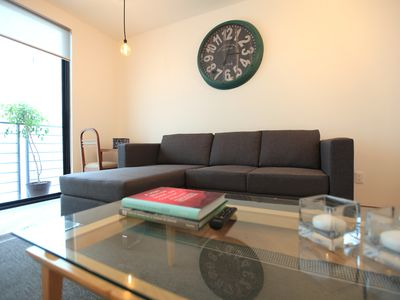 Photo for Modern apartment in Condesa 2 bedrooms, 2 bathrooms