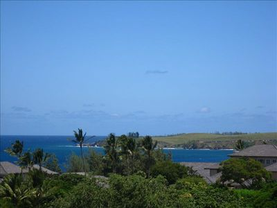 View of Honolua Bay, A Protected Marine Reserve, from Main Lanai