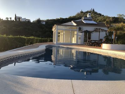 Photo for Villa with swimming pool, near the sea, for 6 people, fully equipped