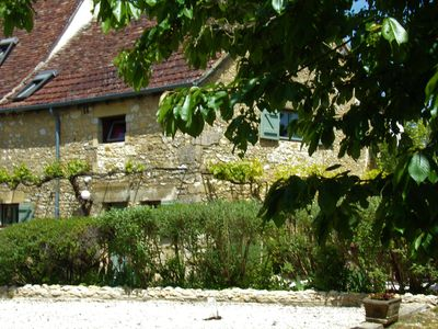 Photo for Beautiful 3 bedroom stone cottage