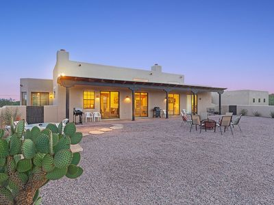 Photo for Sonoran Spirit- Amazing 3 bed, 2 bath with gorgeous mountain and desert views