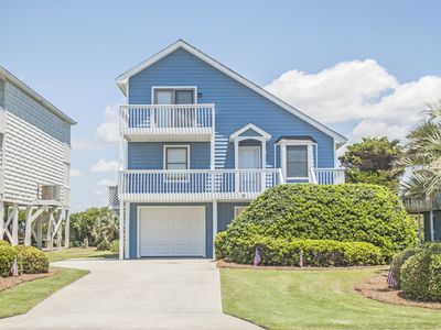 Photo for Stylish 3 Bed/2 Bath Rental on Waterway in Caswell Beach