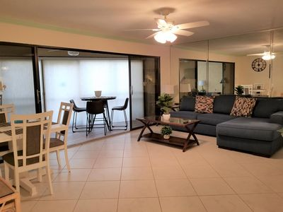 Photo for Firethorn 212 - 2 Bedroom Condo with Private Beach with lounge chairs & umbrella provided, 2 Pools, Fitness Center and Tennis Courts.