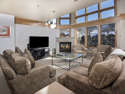 Photo for Immaculate Luxe Condo, Ski-In/Out Lionsquare Property w/ Supreme Views & Hot Tub