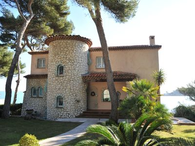 Photo for sea view villa with pool Cap d'antibes