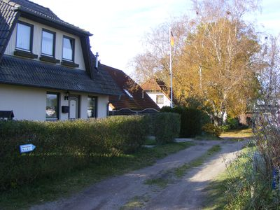 Photo for quietly located end terraced house for 4 people, fireplace, terrace and large garden