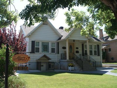 Photo for Location, location, location! 1929 Cottage Historic Downtown /1blk to Festival