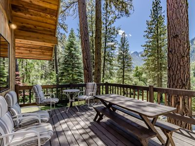 Photo for Waterfront cabin just three miles from town - perfect for kayaking & canoeing