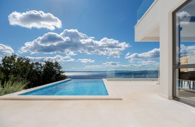 Photo for NEW Modern luxury villa with breathtaking sea view