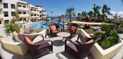 Photo for Home welcoming with spacious terrace and beautiful bay views at Club Cerralvo