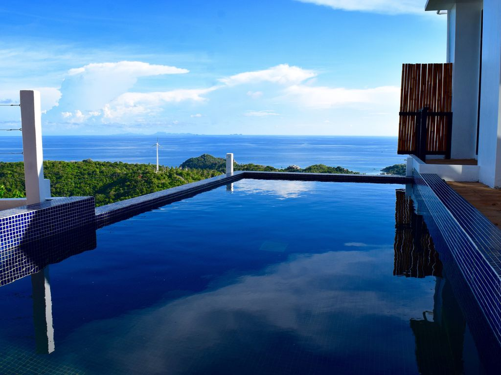 Top Of The Rock Pool Villa Koh Tao 3br Vrbo