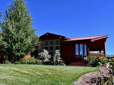 Photo for New Listing! Gardiner Hillside Hideaway -- Great for large gatherings!