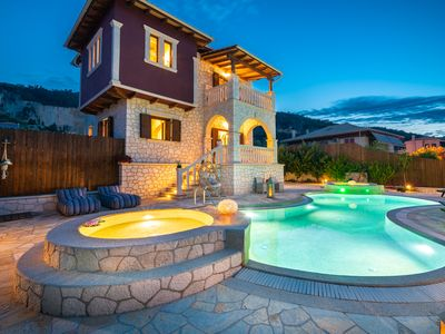 Photo for Fairytale Villa, in the heart of Lefkas town and Agios Ioannis beach!On offer!!!