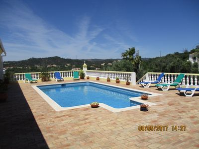 Photo for Refurbished 2019 Large House with 4 bedrooms/private swimming pool/country views