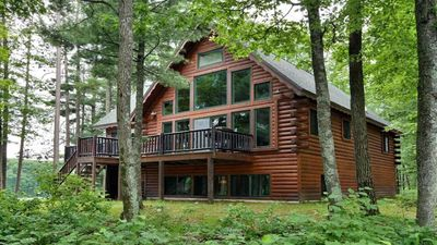 Photo for Clear Lake Point - log cabin on private peninsula