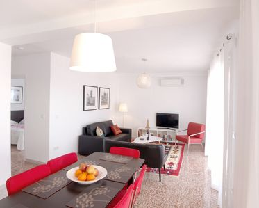 Photo for Apart. 2, Malaga, sleeps 7, sea view & terrace