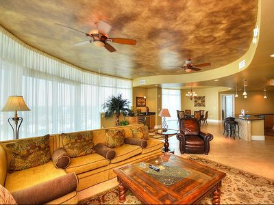 Photo for Great Corner Unit - 4 King Suites - Panoramic Views of the Gulf