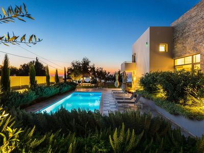 Photo for HIGH QUALITY VILLA WITH EXEPTIONAL  SEA VIEWS AND FULL PRIVACY