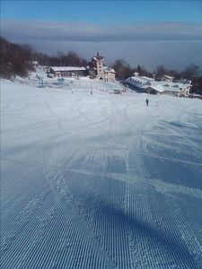 Beginner slope at Ski Beech, just a 5-minute drive from condo.