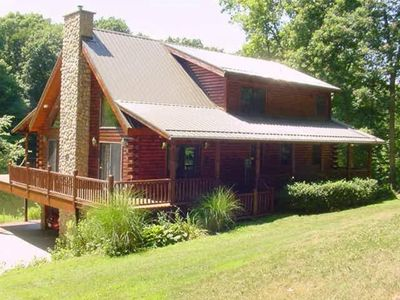 Ohio Mohican / Amish Country Quiet Log Home  -   Loudonville / Millersburg area