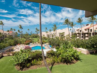 Photo for Prime View+Luxe Upgrades! Island Décor, Kitchen, WiFi, Lanai–Kamaole Sands 5307