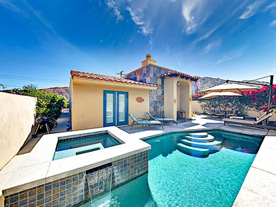 Photo for 2BR w/ Private Pool & Spa, Stunning Mountain Views – Near Old Town & Dining