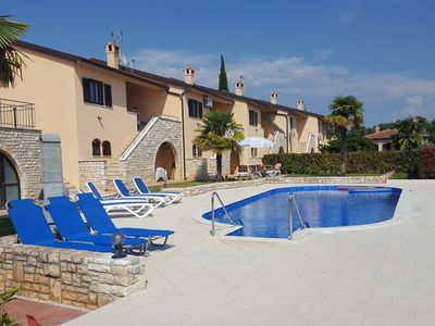 Photo for Istria Holiday home with sea view free wifi, parking and air condition