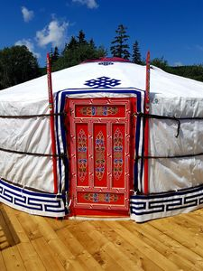 Photo for Flying Moose Yurt at Cabot Shores Wilderness Resort