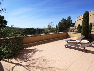 Photo for Beautiful 3P Large Terrace in Village Club Private Domain Pont Royal en Provence