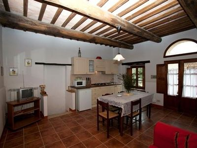 Photo for Apartment for 2 persons on a horse farm close to Casole d'Elsa in Tuscany.