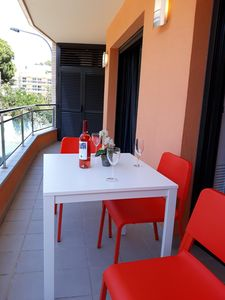 Photo for Apartment 250m from the beach, with air conditioning, terrace, wi-fi.  Ref. A059