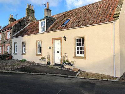 Photo for Pretty period cottage with garden in conservation village near Elie