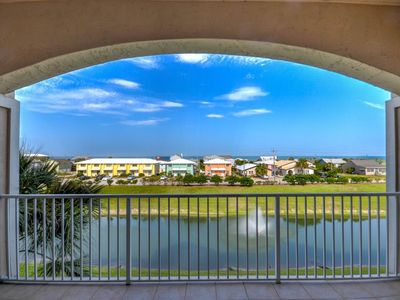 Photo for Stunning ocean view condo with pool across from the beach!