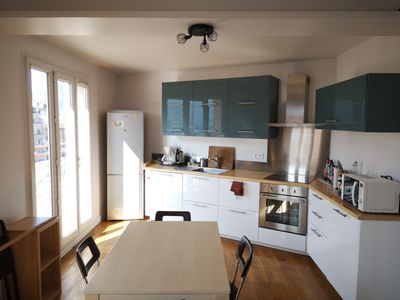 Photo for Crossing apartment with large terrace